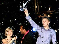 Estonia win the 2001 Eurovision song contest
