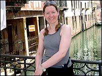 Yvonne Coffey in Venice