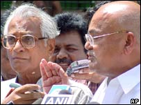 George Fernandes and Venkaiah Naidu
