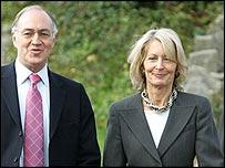 Sandra Howard with husband Michael