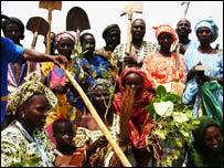 The Boghe locust task force, Mauritania