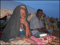 Braika and her husband in Kiffa, southern Mauritania.