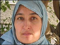 Presidential candidate Masooda Jalal