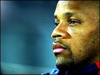Rangers defender Jean-Alain Boumsong