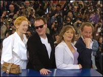 With fellow jurors including Tilda Swinton and Kathleen Turner