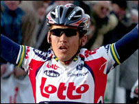 Lotto rider Robbie McEwen