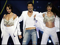 Greek entry Sakis Rouvas