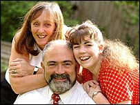 Victoria Peaford with her parents Alan and Jane - Trident Photographic Services