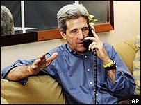 John Kerry, candidato demócrata a la Presidencia de EE.UU.