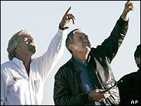 Richard Branson and Burt Rutan