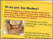 An article from Muslimyouth.net talking about gay Muslims