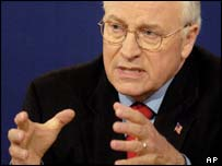 Dick Cheney, US vice-president, AP