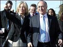 Sandra and Michael Howard in Bournemouth