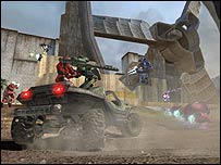Screenshot of Halo 2