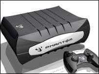 Concept art for Phantom console, Infinium