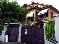 Italian family home of Sonia Gandhi, in town of Orbassano