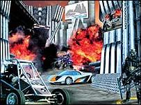 Sci-fi car show