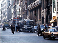 Fleet Street in 1971