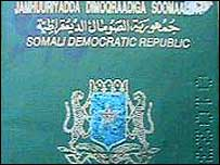 Somali passport