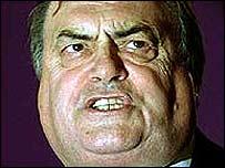 Deputy Prime Minister John Prescott