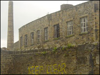 Disused mill in Burnley