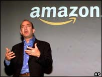 Jeff Bezos, Amazon boss, AP