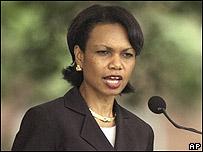 Condoleezza Rice, secretario de Estado de EE.UU.