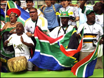 SA fans