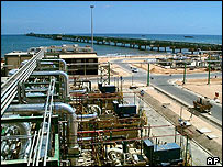 Mellitah plant, western Libya