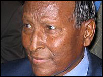Somali presidential candidate Abdullahi Yusuf 