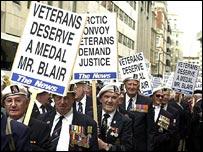 Arctic convoy veterans