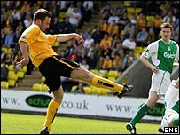 Stuart Lovell scores against his old club