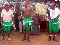 Cameroon campaign rally
