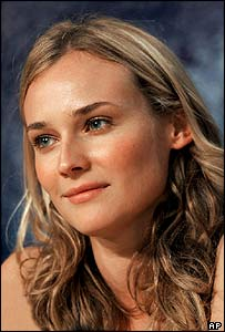 German-born actress Diane Kruger