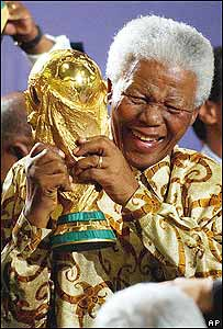 Nelson Mandela, ex presidente de Sudáfrica
