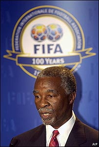 Thabo Mbeki, presidente de Sudáfrica