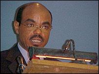 Ethiopian Prime Minister Meles Zanawi