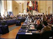 Reuni�n especial de la OEA