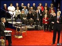 President Bush and John Kerry