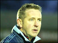 Aldershot manager Terry Brown
