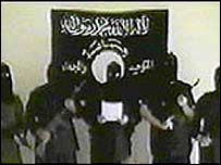 Tawhid and Jihad members, from a video they released