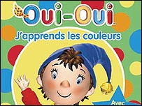 Noddy in French