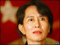 Burmese pro-democracy leader Aung San Suu Kyi (file photo)