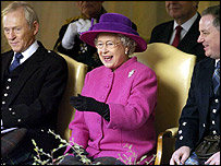 The Queen, George Reid and Jack McConnell
