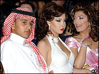 Abbas Ibrahim of Saudi Arabia, Nancy Ajram of Lebanon and Asola Nasri of Syria