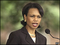 American National Security Adviser Condoleezza