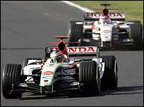 Button and Sato took BAR to the brink of second place in the championship