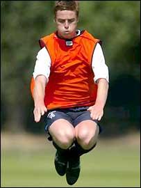 Scott Parker training at Chelsea