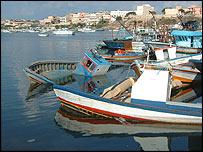 Lampedusa's harbour