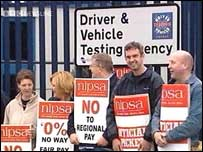Nipsa has been involved in strike action since December